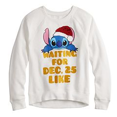 Girls 7-16 Disney's Lilo & Stitch Flippy Sequin Graphic Sweatshirt