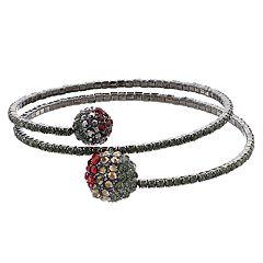 Simply Vera Vera Wang Simulated Stone Coil Wrap Bracelet