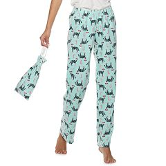 Juniors' SO® Fleece Pajama Pants in a Bag