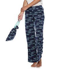 Juniors' SO® Fleece Pajama Pants in a Bag