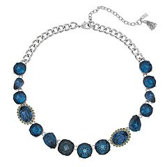 Simply Vera Vera Wang Blue Collar Necklace