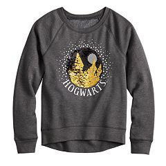 Girls 7-16 Harry Potter Hogwarts Flippy Sequin Graphic Sweatshirt
