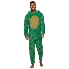 Men's Dinosaur Hooded Union Suit