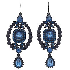 Simply Vera Vera Wang Blue Statement Drop Earrings
