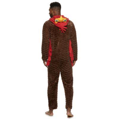 Men's Turkey Run Hooded Union Suit