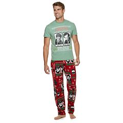 Men s Home Alone Tee   Lounge Pants Set 6a0495b12