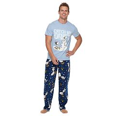 Men's Peanuts Snoopy 'Catch My Drift' Tee & Lounge Pants Set