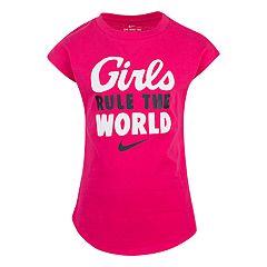 Girls 4-6x Nike 'Girls Rule The World' Graphic Tee