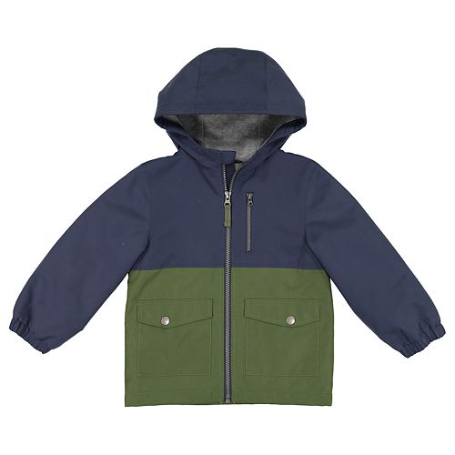 Toddler Boy Carter's Colorblock Hooded Midweight Jacket