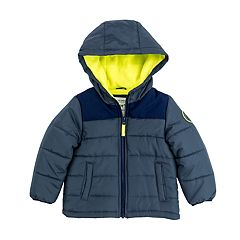 Toddler Boy Carter's Quilted Heavyweight Jacket