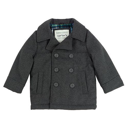 fd1e9e64f2b8 Toddler Boy Carter s Lightweight Peacoat Jacket