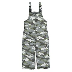 Toddler Boy OshKosh B'gosh® Camouflaged Bib Overall Snow Pants