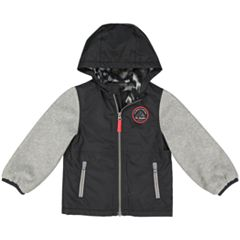 Baby Boy Carter's Lined Hooded Midweight Jacket