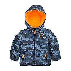 Baby Boy Carter's Quilted Camo Hooded Heavyweight Jacket