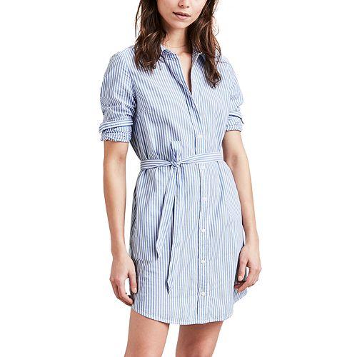 Women's Levi's® Striped Shirtdress