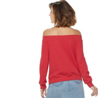 Women's POPSUGAR Off-The Shoulder Sweatshirt