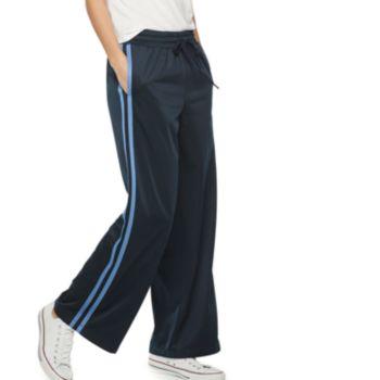 Women's POPSUGAR Side-Stripe Wide Leg Athletic Pants