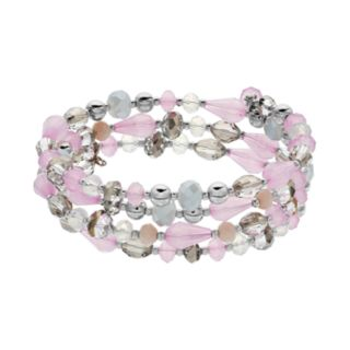 Beaded Coil Bracelet