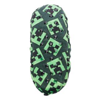Boys 4-20 Minecraft Creeper Fuzzy Slippers