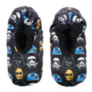 Boys 4-20 Star Wars Fuzzy Slippers