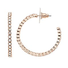 SONOMA Goods for Life™ Simulated Crystal Hoop Earrings