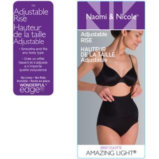 Women's Naomi & Nicole Amazing Light Adjustable Rise Brief 753
