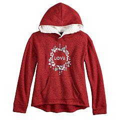 Girls 7-16 & Plus Size Mudd® Hoodie Sweatshirt
