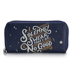 Harry Potter 'I Solemnly Swear' Graphic Zip-Around Wallet