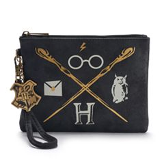 Harry Potter Icons Graphic Wristlet