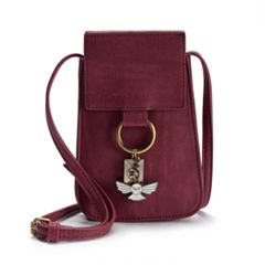 Harry Potter Hedwig & Letter Charm Crossbody Purse