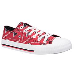 Women's Atlanta Falcons Team Logo Canvas Shoes