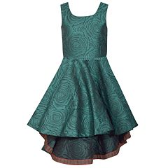 Girls 7-16 Bonnie Jean High Low Brocade Dress