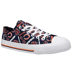 Women's Chicago Bears Team Logo Canvas Shoes