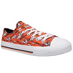 Women's Denver Broncos Team Logo Canvas Shoes
