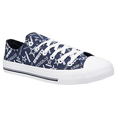 Women's Dallas Cowboys Team Logo Canvas Shoes