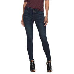 Petite Apt. 9® Tummy Control Midrise Skinny Jeans