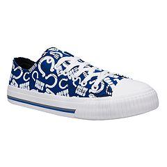 Women's Indianapolis Colts Team Logo Canvas Shoes