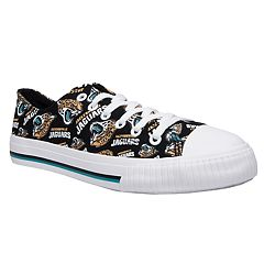 Women's Jacksonville Jaguars Team Logo Canvas Shoes