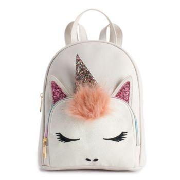 OMG Accessories Glitter Unicorn Mini Backpack