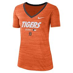 Women's Nike Detroit Tigers Velocity Dri-Fit Tee