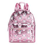 OMG Accessories Metallic Rainbow Unicorn Mini Backpack