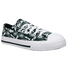 Women's New York Jets Team Logo Canvas Shoes