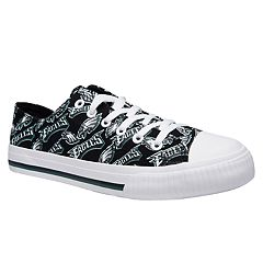 Women's Philadelphia Eagles Team Logo Canvas Shoes