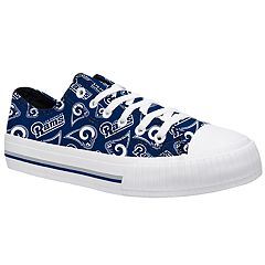 Women's Los Angeles Rams Team Logo Canvas Shoes