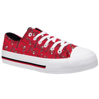 Women's Tampa Bay Buccaneers Team Logo Canvas Shoes