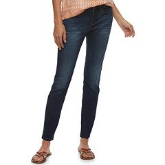Petite SONOMA Goods for Life™ Curvy Mid-Rise Skinny Jeans