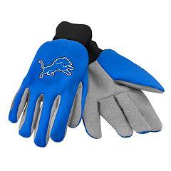 Adult Detroit Lions Utility Gloves