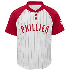 Baby Philadelphia Phillies Henley Tee & Shorts Set