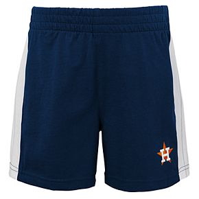 Baby Houston Astros Henley Tee & Shorts Set