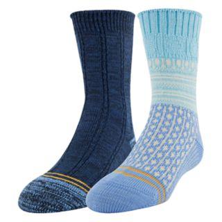 Girls 4-16 GOLDTOE 2-pack Boot Socks